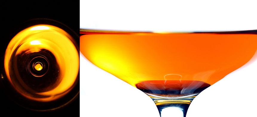 Höchste Brillanz: Cognacglas mit Weinbrand (Foto: Jonathan Cohen / Flickr)
